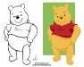 Pooh_04_BW & Color 04