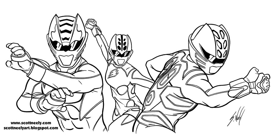 POWER RANGERS COLORING PAGES - Coloring Pages