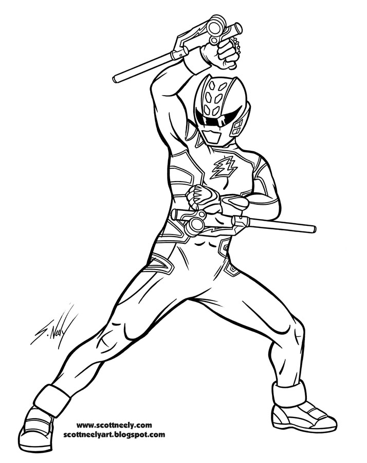 187 Power Rangers Jungle Of Furyscott Neely Design O Strator Power Rangers Jungle Fury Coloring Pages