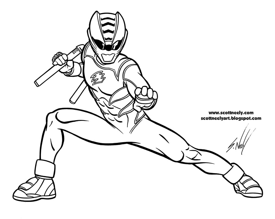 187 Power Rangers Jungle Of Furyscott Neely Design O Strator Power Ranger Coloring Pages
