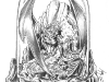 CD_09_Wizard & Dragon Bell Jar_No Flame_Pencil Rough