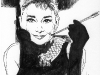 CD_14_Audrey Hepburn_Portrait Rough Sketch
