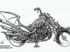 CD_18_Julie Bell Fantasy Bike_Pencil Tight Sketch